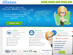 Screenshot clixten