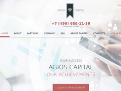 Screenshot agios-capital ltd