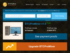 Screenshot btcprominer