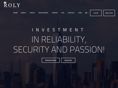 Screenshot Roly Investment