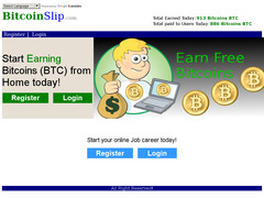 Screenshot bitcoin slip