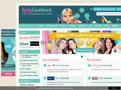 Screenshot ladycashback