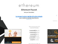 Screenshot ethereumfaucet.info