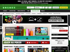 Screenshot unibet poker