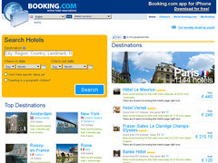 Screenshot booking
