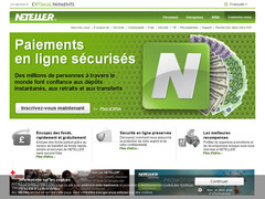 Screenshot Neteller