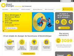 Screenshot direct energie