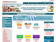 Screenshot carrefour internet