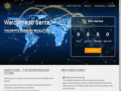 Screenshot santacoin