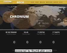 Screenshot chronium