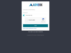 Screenshot adverx