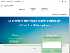 Screenshot agrilend