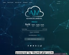 Screenshot advanced miners (futur cloud mining)
