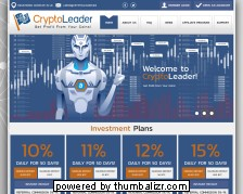 Screenshot cryptoleader