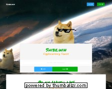 Screenshot shibe.win