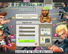 Screenshot steemmafia