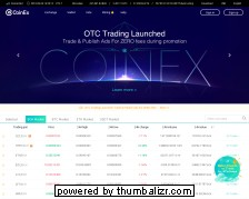 Screenshot coinex