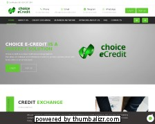 Screenshot choice e-credit