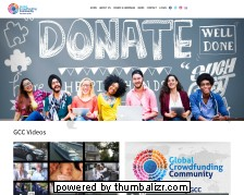 Screenshot global crowdfunding community