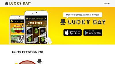 Screenshot lucky day