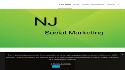 nj entreprise social marketing