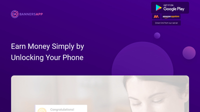 Screenshot bannersapp