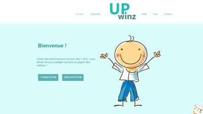 Screenshot upwinz.fr