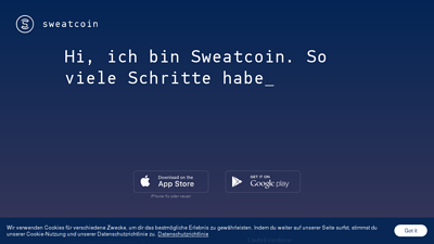 Screenshot sweatcoin
