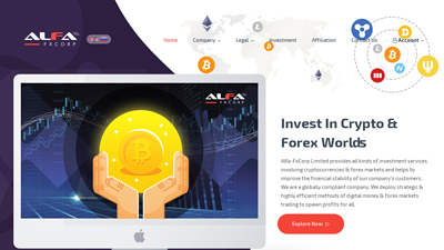 Screenshot alfa-fxcorp