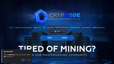 Screenshot crypnode