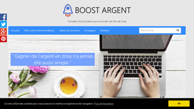 Screenshot BOOST ARGENT