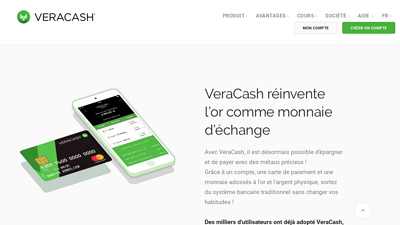 Screenshot veracash