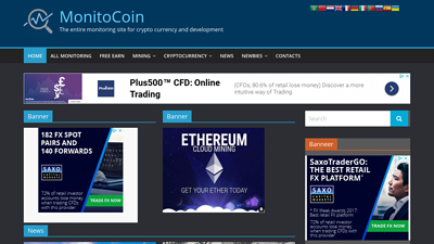 Screenshot monitocoin