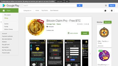 bitcoin claim pro - free btc, application pour gagner bitcoin toutes