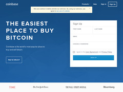 Screenshot Coinbase
