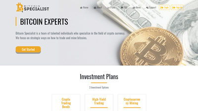 Screenshot bitcoin specialist
