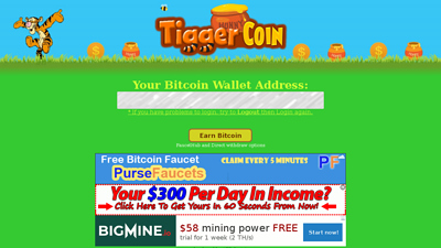 Screenshot tiggercoin