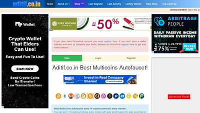 Screenshot aditif.co.in