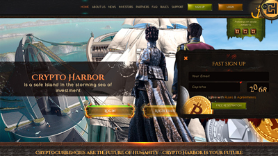 Screenshot crypto-harbor