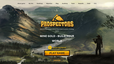 Screenshot prospectors