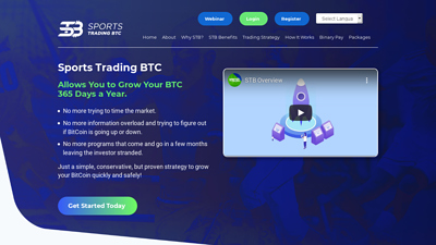 Screenshot sports trading btc