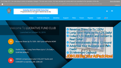 lucrative fund club
