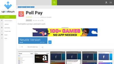 Screenshot poll pay
