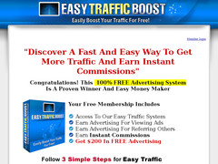 Screenshot easy traffic boost