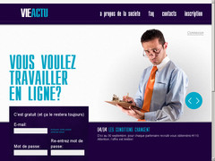Screenshot internet job vie actu