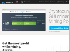 Screenshot minergate