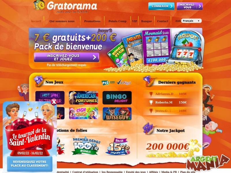 Screenshot gratorama