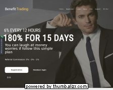 Screenshot benefit trading