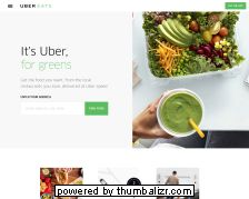 Screenshot uber eats