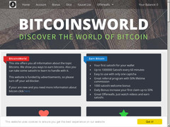 Screenshot Bitcoinsworld One